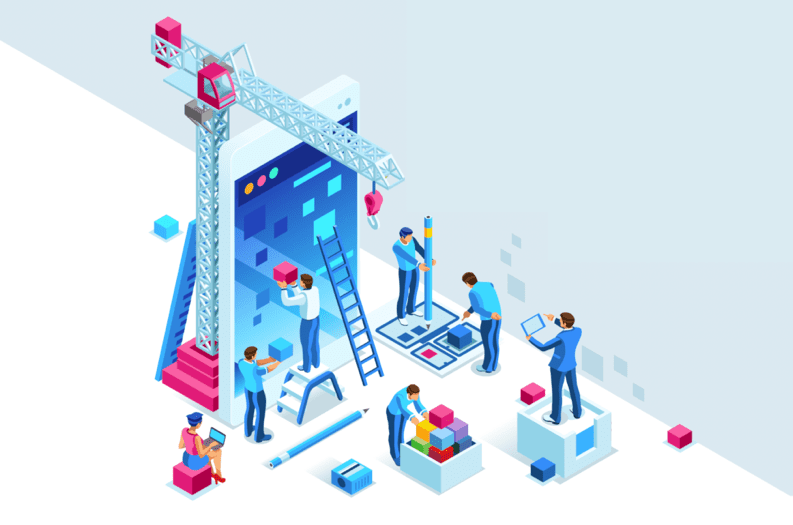 VMS UX Design Illustration